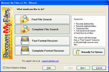 Recover my files v3.98
